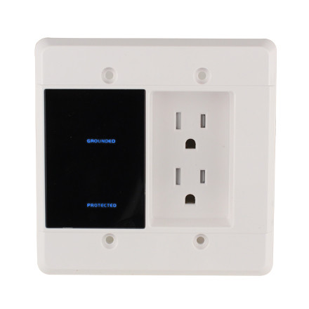 Ele9009 Element Hz In Wall Surge Protector With Recessed