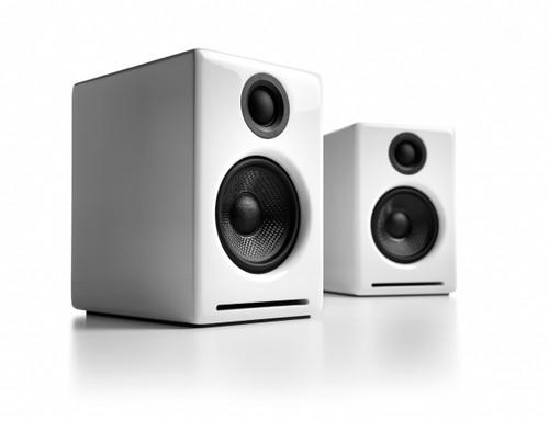 Audioengine A2 Powered Desktop Speakers White Pair