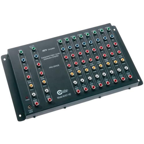 Ce Labs Av901hd Hdtv Component A V Distribution Amp