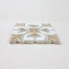 Two-Color Hiser Handmade Tile
