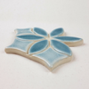 Two-Color Bloom Handmade Tile