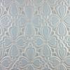Handmade Tile Brocade Pattern in Light Gray & Satin Silver