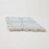 Two-Color Brocade Handmade Tile