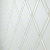 Handmade Tile Gate Pattern in Glossy and Satin White