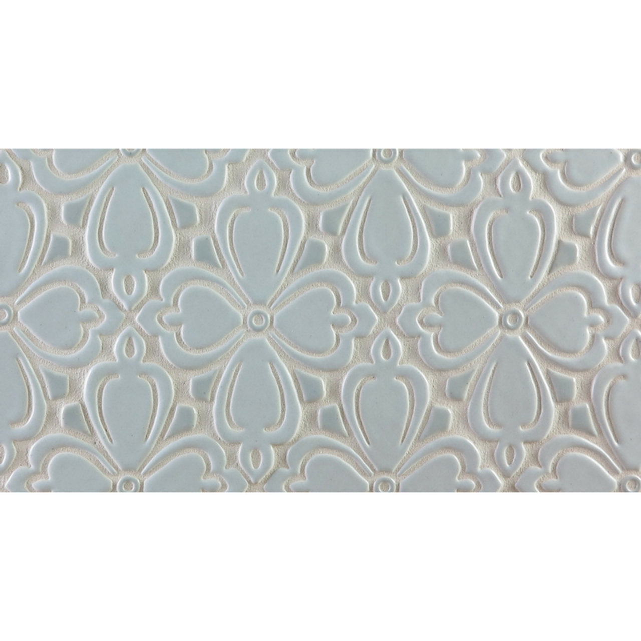 Two-Color Brocade Handmade Tile Border - Julep Tile Company