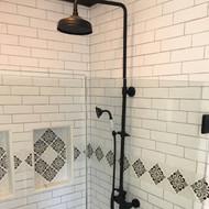 Glamorous Black & White Home Renovation
