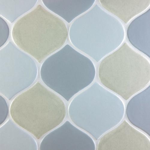 Lantern pattern handmade tile