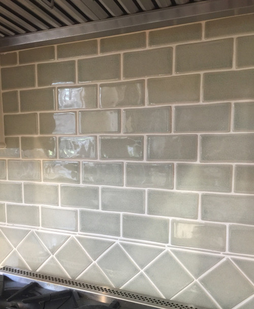 Classic Cottage Kitchen With Handmade Subway Tile Amp 4x4