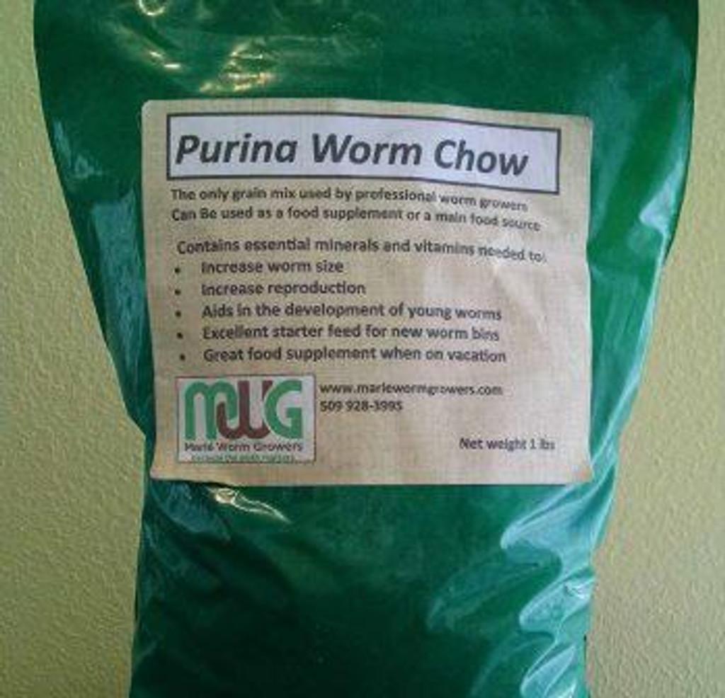 Worm Chow, 1 lb