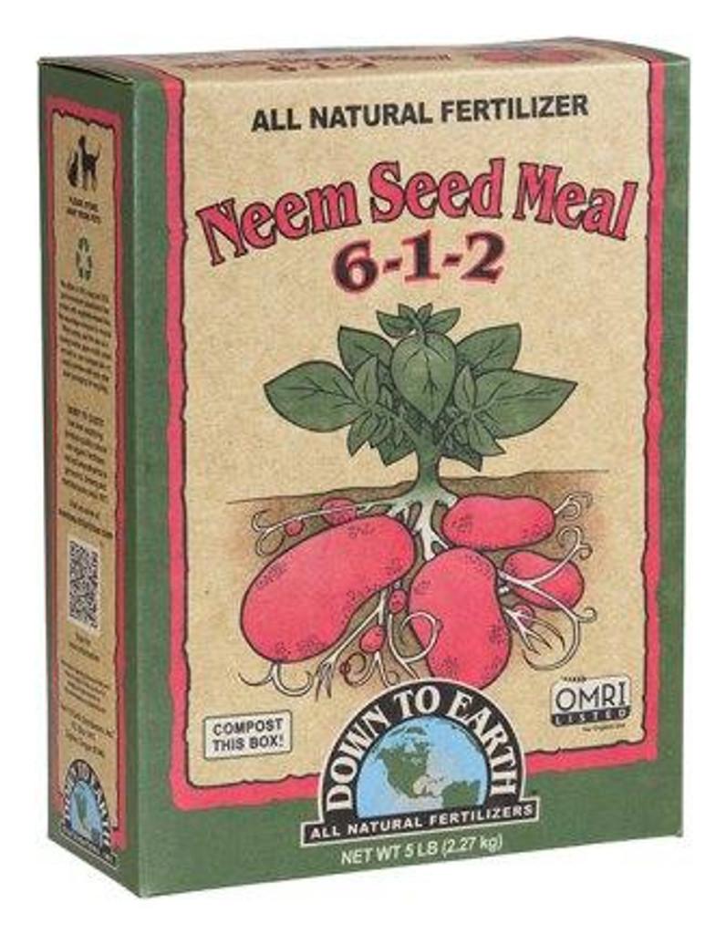 Neem Seed Meal 6-1-2, 5lb