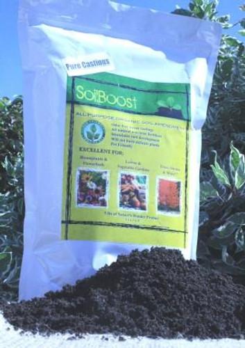 SoilBoost, Pure Worm Cast, 5 lbs