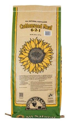 DTE Cottonseed Meal, 20lb Bag