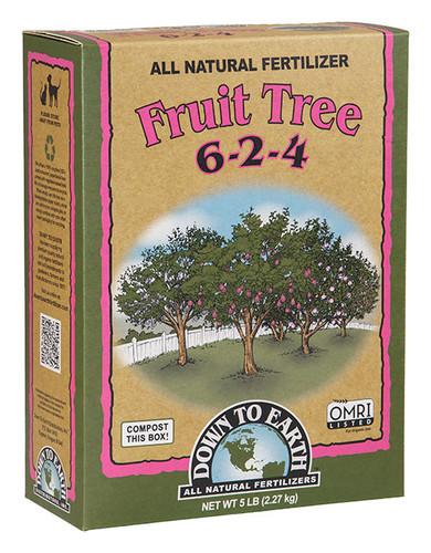 Organic Fruit Tree, 6-2-4, 5lbs