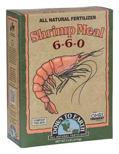 Organic Shrimp Meal 6-6-0, 2lb