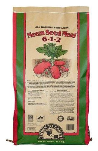 DTE Neem Seed Meal 6-1-2, 40lbs