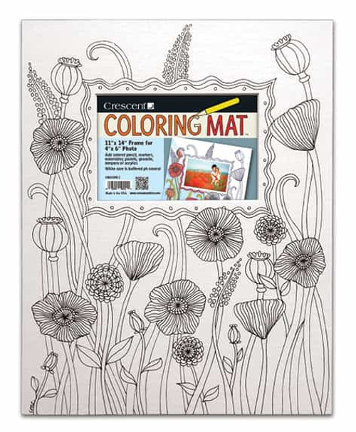 Poppies Coloring Mat