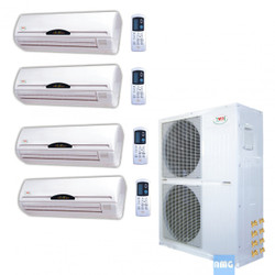 YMGI Quad Zone Mini Split Heat Pump