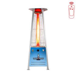 Beau Lava Heat Italia Triangular 6 Ft. Commercial Flame LED Patio Heater With  Remote (LHI