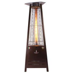 Lava Heat Italia Triangular 6 ft. Commercial Flame Patio Heater (LHI-105)