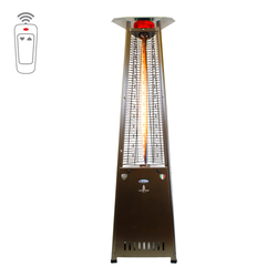 Lava Heat Italia Triangular 8 ft. Commercial Flame Patio Heater with Remote (LHI-126)