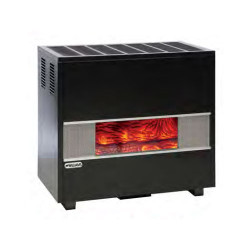 Williams GLASS FRONT VENTED ROOM CONSOLE 50K BTU Natural Gas Home Heater