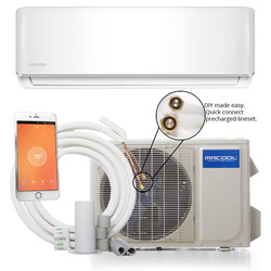 MrCool DIY-12-HP Ductless Mini Split 12K Heat Pump 115 Volt with WiFi