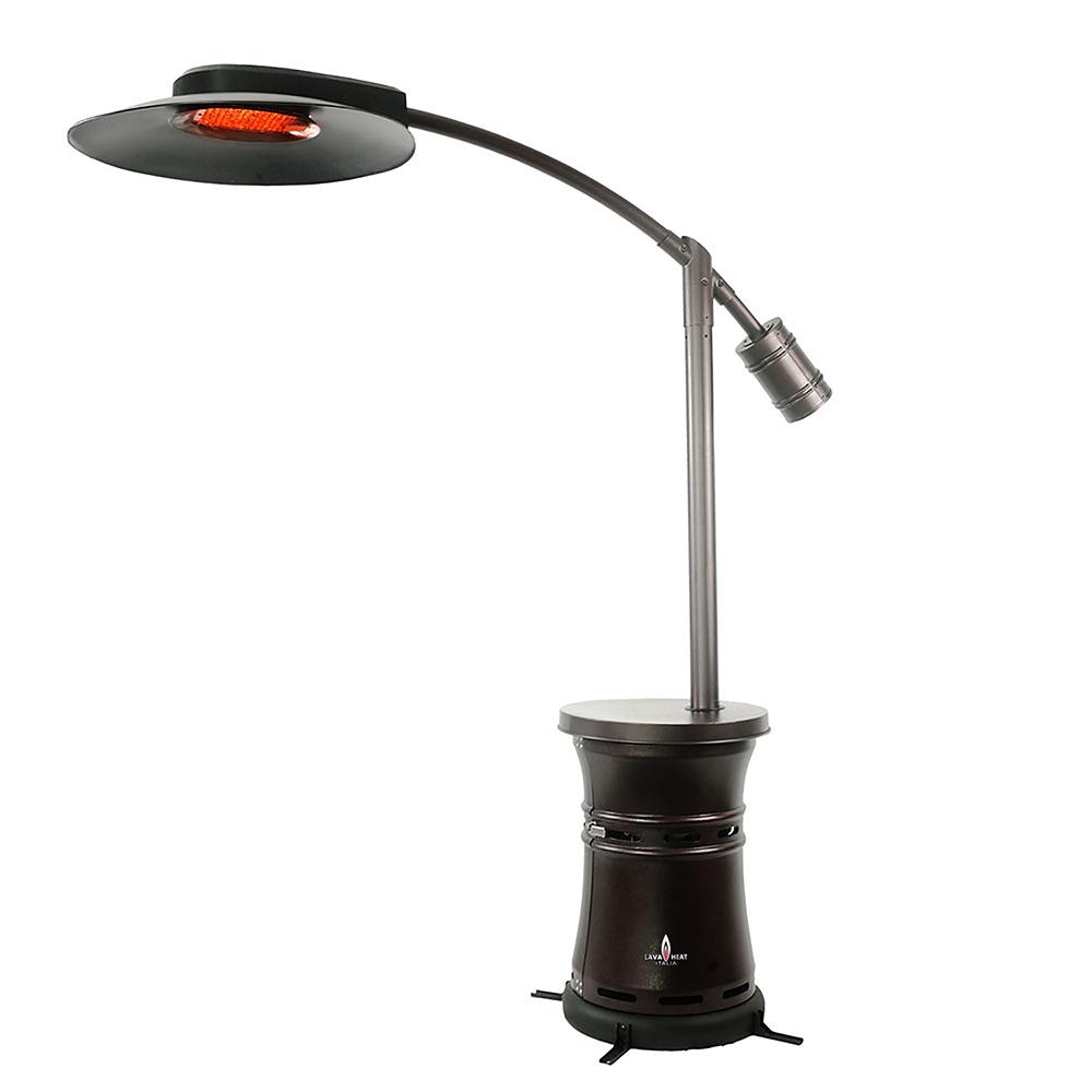 Lava Heat Italia Cantilever Commercial Dome Style Patio Heater (LHI 166) ...