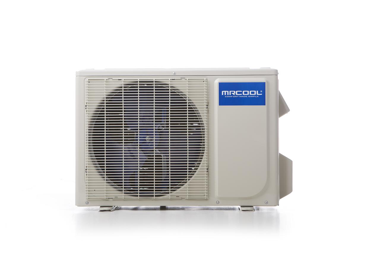 Mrcool Diy 36 Hp Mini Split Ductless Air Conditioner Con Wiring Diagram Condenser