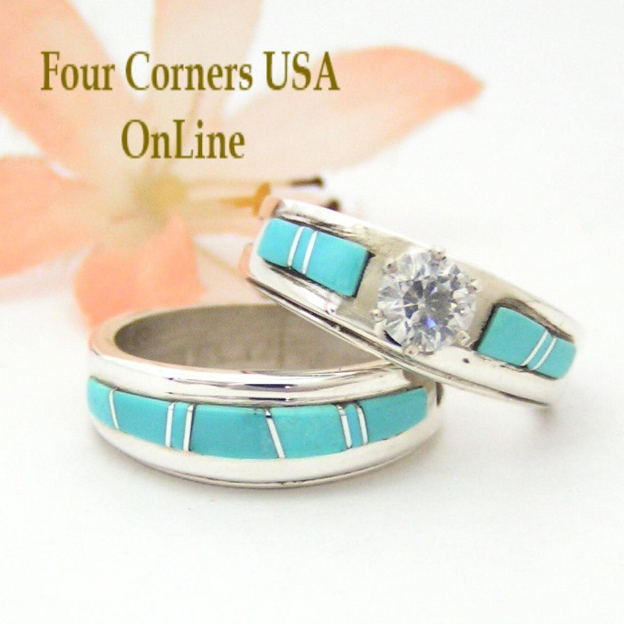 Navajo Wedding Rings