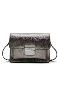 Maliparmi Metal Colors Metallic Flap Mini Crossbody Bag