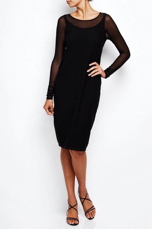 Annette Goertz Stretch Mesh Cocoon Dress
