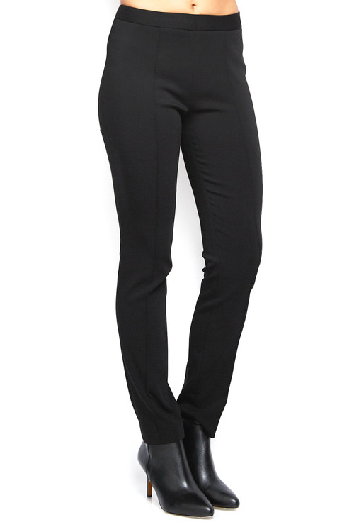 Nellie Partow Suiting Pant Trouser Black 2
