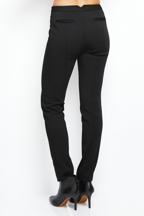 Nellie Partow Suiting Pant Trouser Black 3