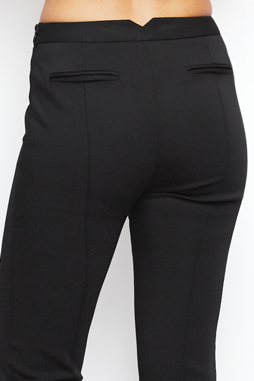 Nellie Partow Suiting Pant Trouser Black 5