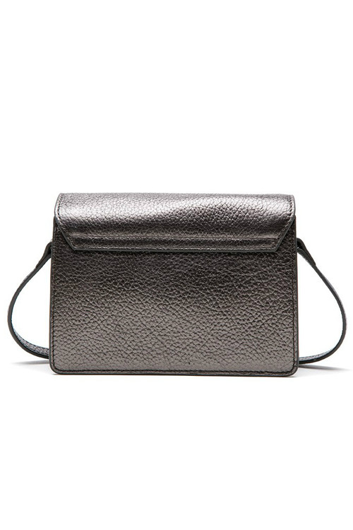 Maliparmi Metal Colors Metallic Flap Mini Crossbody Bag 3