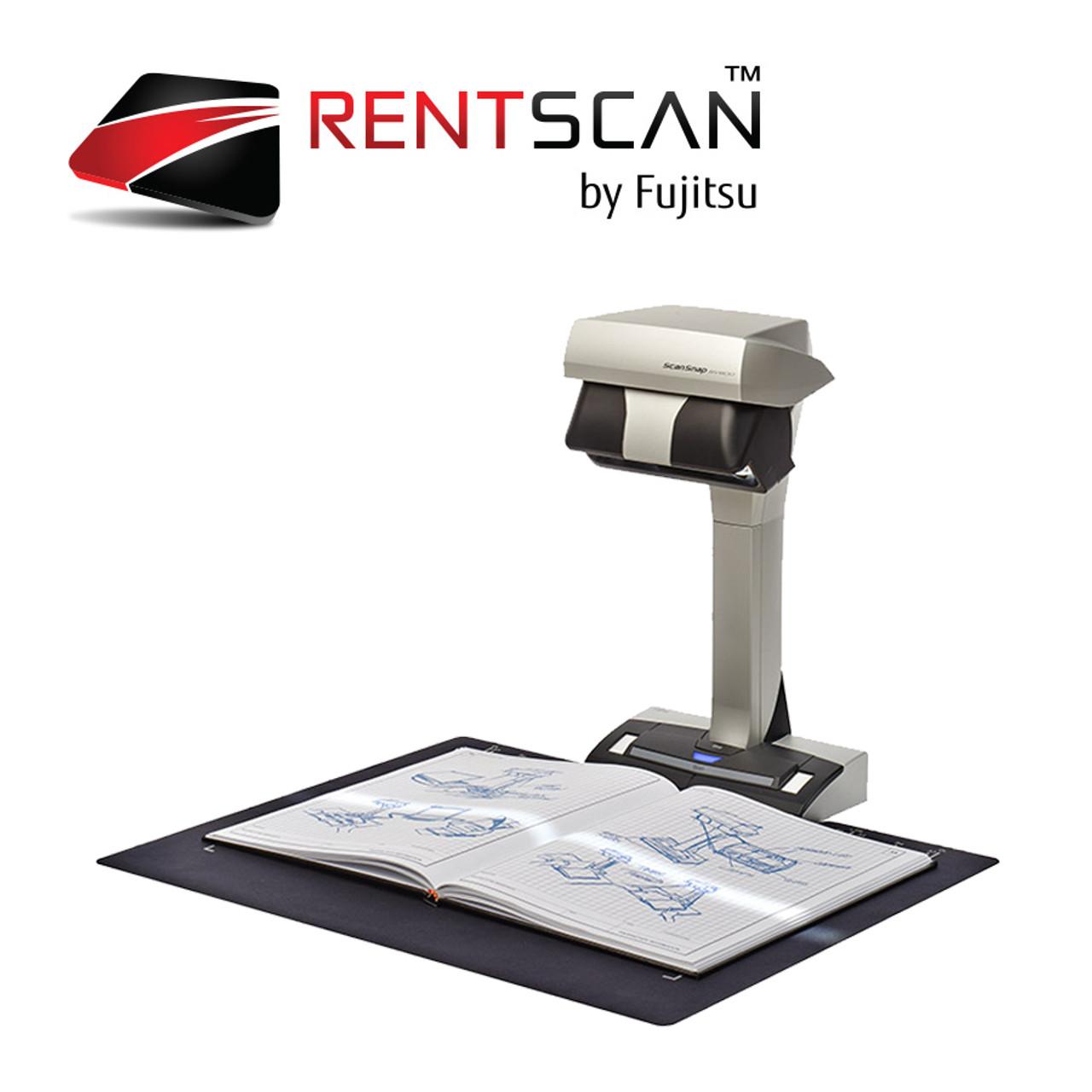 Scansnap Sv600 Overhead Scanner Rental Rentscan Fujitsu Store Fi Series N7100 Network