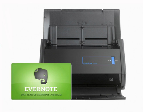 iX500 with Evernote Card