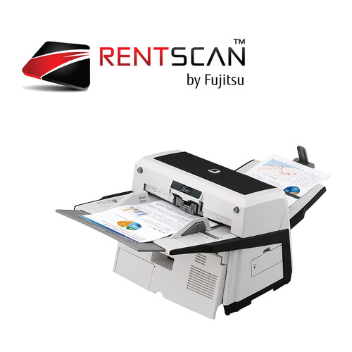 RENTSCAN, fi-6670 SCANNER - Scan up to 15,000 pages per day