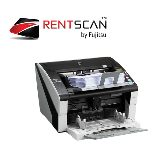 RENTSCAN, fi-6800 SCANNER - Scan up to 60,000 pages per day