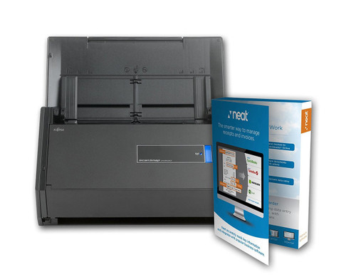SCANSNAP iX500 SCANNER POWERED WITH NEAT