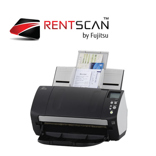RENTSCAN, fi-7160 SCANNER - Scan up to 4,000 pages per day