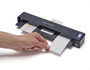 ScanSnap iX100 scanning multiple business cards