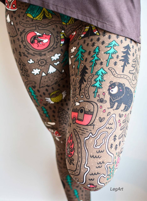 Summer Camp Leggings