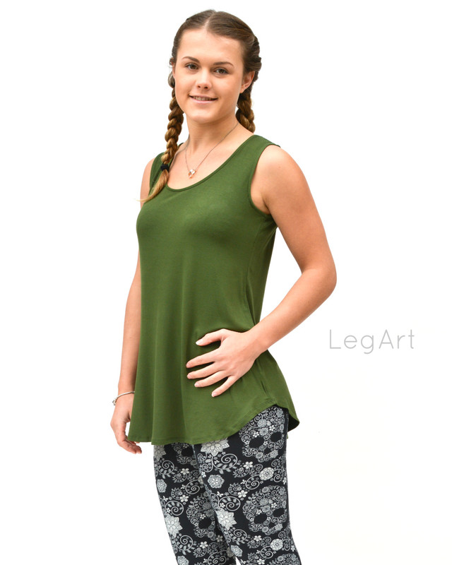 Layla Sleeveless Green