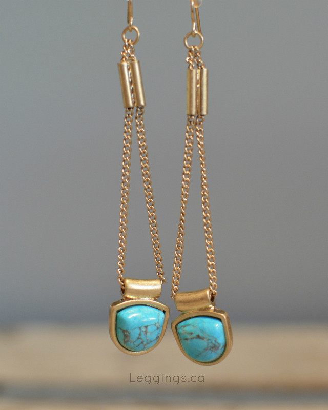 Turquoise Drop