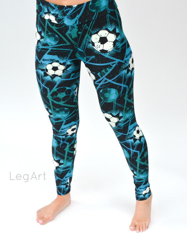 Soccer Mom Yoga Leggings