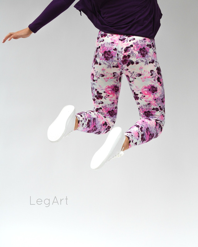 Rose Bomb Leggings