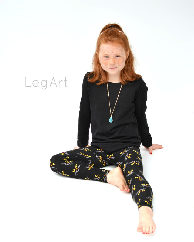 Night CAT Children's leggings