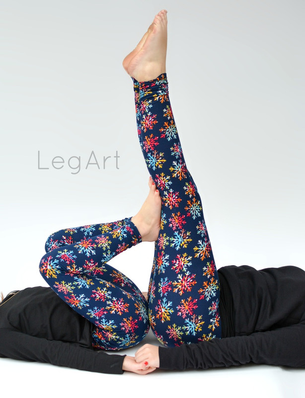 Rainbow Flakes Leggings