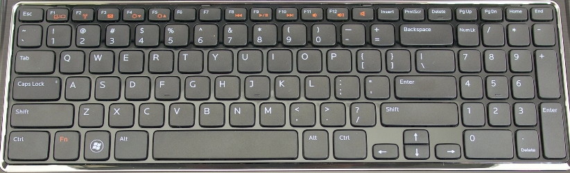 Dell i15RN Laptop keyboard key
